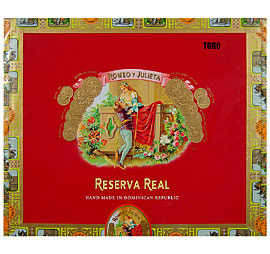 Romeo y Julieta Reserva Real Toro Medium Brown