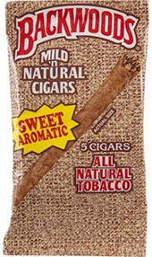 BACKWOODS SWEET AROMATIC (5 PACKS OF 8 CIGARS)