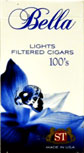 Bella Filtered Little Cigars - Light 100 Box