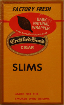 CERTIFIED BOND SLIMS - MADURO 10/5PKS
