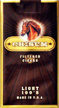 Chisum Filtered Little Cigars - Light 100