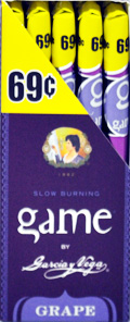 Garcia y Vega Game Cigarillos Grape 25ct