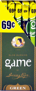 Garcia y Vega Game Cigarillos Green 25ct