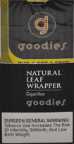 Goodies Natural Leaf Wrapper Cigarillos 10 - 5pks