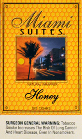 MIAMI SUITES HONEY  5 - 5PKS