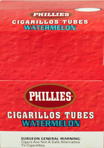 Phillies Cigarillos Watermelon - 25 Tubes