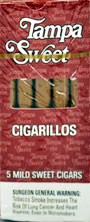 TAMPA SWEET CIGARILLOS 10/5PKS
