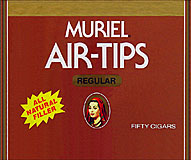 MURIEL AIR TIPS, NATURAL 50CT BOX