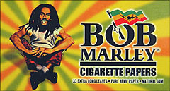 BOB MARLEY EXTRA LONG LEAVES 50/33CT BOOKLETS