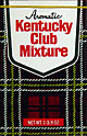Kentucky Club Mixture Aromatic Pipe Tobacco 6 - 1 3/8oz Packs