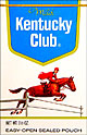 Kentucky Club Mild Pipe Tobacco 6 - 1.5oz Packs
