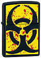 ZIPPO HAZARDOUS - BLACK MATTE