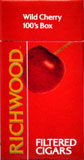 RICHWOOD WILD CHERRY LITTLE CIGARS BOX