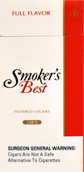Smokers Best Full Flavor 120's Filtered Cigars Box