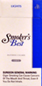 Smokers Best Lights 120's Filtered Cigars Box