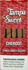 TAMPA SWEET CHEROOT 10/5PKS