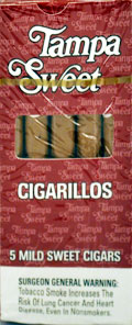 Buy TAMPA SWEET CIGARILLOS 10 - 5PKS