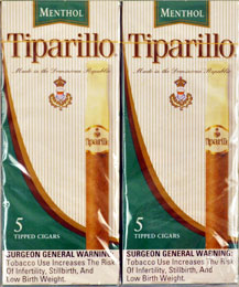 Tiparillo Menthol 10/5pks