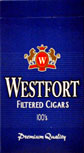 Westfort Blue Filtered Cigars 100 Box
