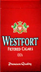 Westfort Red Filtered Cigars 100 Box