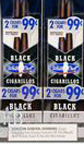Buy White Owl Cigarillos Black - Foil Pouch 30CT 2 - $0.99