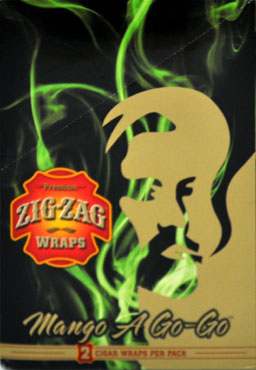 ZIG ZAG MANGO A GO-GO WRAP 25-2PKS