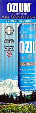 Buy OZIUM GLYCOL-IZED AIR SANITIZER OUTDOOR ESSENCE 3.5OZ