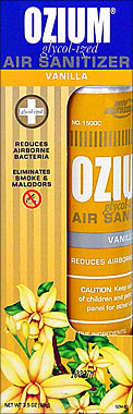 Buy OZIUM GLYCOL-IZED AIR SANITIZER VANILLA 3.5OZ