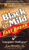 BLACK and MILD FAST BREAK 25 COUNT BOX