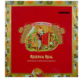 Romeo y Julieta Reserva Real Churchill Medium Brown