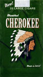 Cherokee Filtered Cigars - Menthol 100