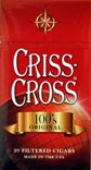 Criss Cross Filtered Cigars - Original 100 Box