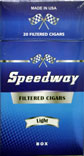 Speedway Filtered Cigars - Light 100 Box