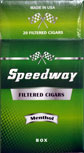 Speedway Filtered Cigars - Menthol 100 Box