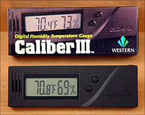 Caliber III Digital Hygrometer