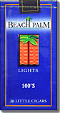 Beach Palm Light 100 Little Cigars