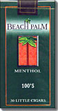 Beach Palm Menthol 100 Little Cigars