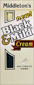 "BLACK & MILD ""CREAM"" CIGARS 10/5PKS"