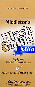 BLACK &amp; MILD &quot;MILD&quot; CIGARS 25 COUNT BOX