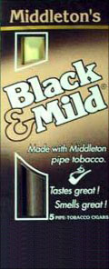 BLACK &amp; MILD CIGARS 10/5PKS