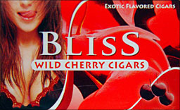 BLISS WILD CHERRY FILTERED CIGAR
