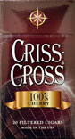 Criss Cross Filtered Cigars - Cherry 100 Box