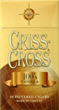 Criss Cross Filtered Cigars - Vanilla 100 Box