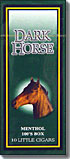 Dark Horse Menthol 100 Box - 10pk Little Cigars