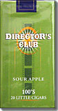Directors Club Sour Apple Little Cigars