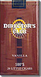 Directors Club Vanilla Filtered Cigars