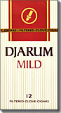 Djarum Mild Filtered Clove Cigars