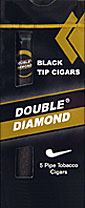 Double Diamond Black Tip Cigar
