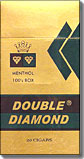 Double Diamond Menthol 100 Box Filtered Cigar