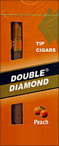 Double Diamond Peach Tip Cigar